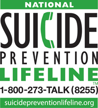 image: National Suicide Prevention Lifeline logo