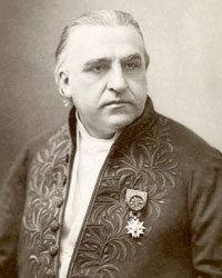 A photograph of Jean-Martin Charcot (1825–1893).