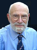 A photograph of neurologist Oliver Sacks (1933-2015).