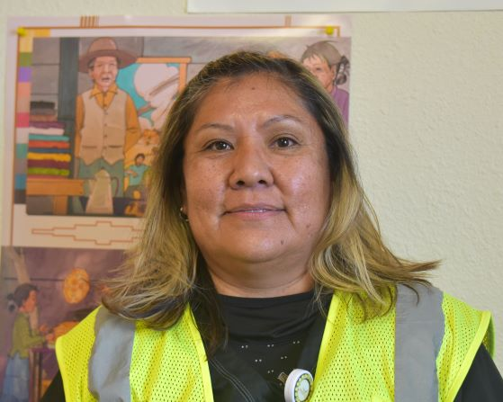Sheila Bedoni, Navajo Department of Health