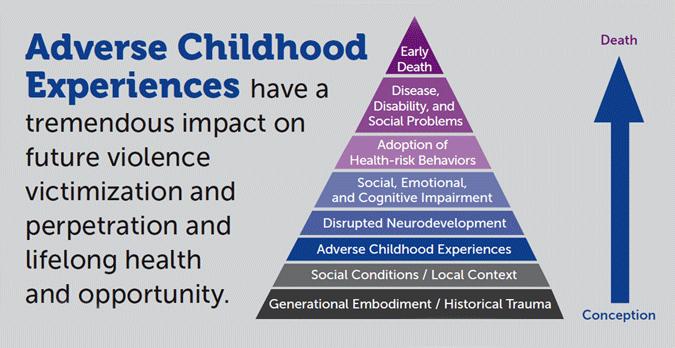 Chart: Adverse Childhood Experiences have a tremendous impact...