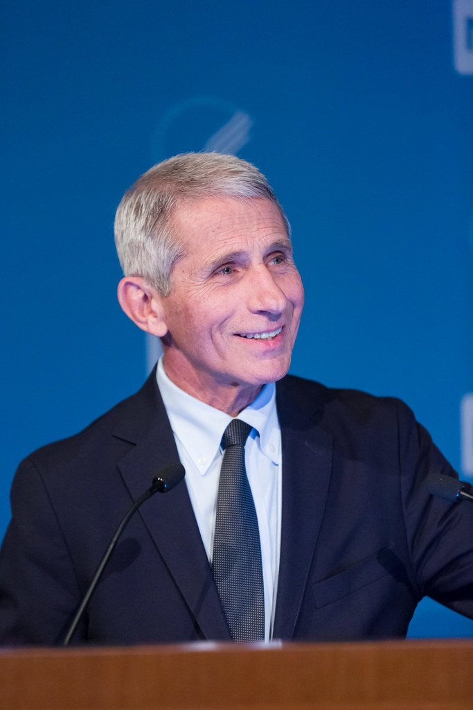 A photo of Anthony Fauci.