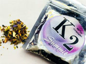 K2 synthetic cannbanoid marketed as incense.