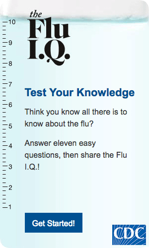 image: the Flu IQ Quiz