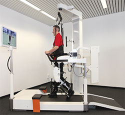 robotic system for locomotor training