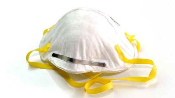 N95 respirator mask.