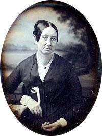 A photograph of Dorothea Lynde Dix, circa 1850-1855.
