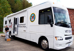 Mobile Vet Center for Veterans